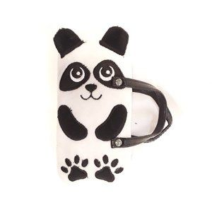 Claire's panda glasses case with handle